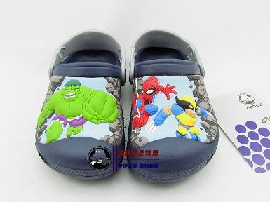 crocs kids super Hero