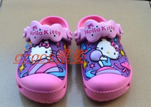 crocs kids kitty