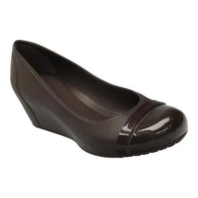crocs cap-toe wedge
