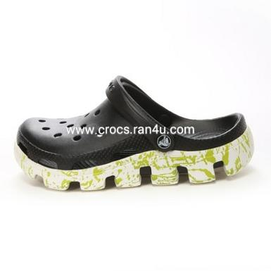 Crocs duet sport splatter Graphic clog