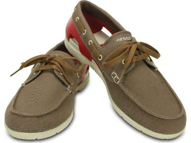 Crocs™ Beach Line Lace-up Boat Shoe M