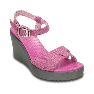 Crocs Leigh Sandal Wedge W