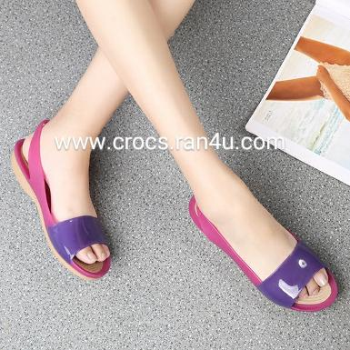 Crocs colorblock