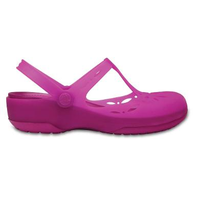 Crocs carlie mary cutout clog