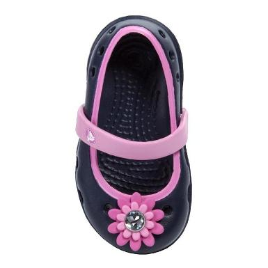 CROCS - Keeley Petal Charm Flat Ps