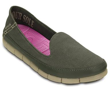 crocs stretch sole skimmer